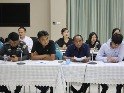 ประชุมคณะกรรมการจัดหาที่ดินและพัฒนาที่ดินโรงพยาบาลสูงเม่น