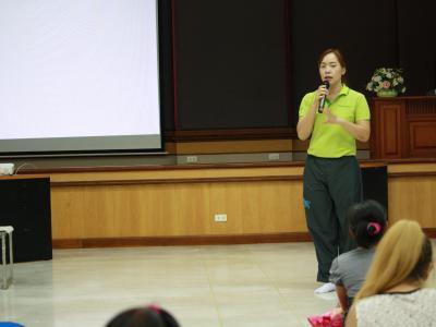 กิจกรรมโรงเรียนพ่อแม่ โดยใช้แนวคิดจิตประภัสสร คปสอ.สูงเม่น