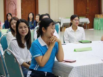 ประชุมการแลกเปลี่ยนเรียนรู้ศูนย์เด็กเล็กและโรงเรียนต้นแบบ เด็กแ