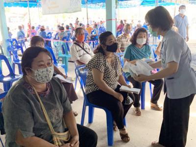 กลุ่มงานบริการปฐมภูมิและองค์รวม โรงพยาบาลสูงเม่น ออกให้บริการฉีด