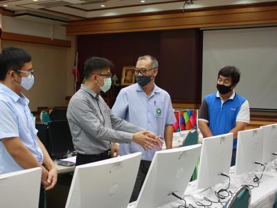 โรงพยาบาลสูงเม่นตรวจรับครุภัณฑ์คอมพิวเตอร์ประจำปีงบประมาณ 2563